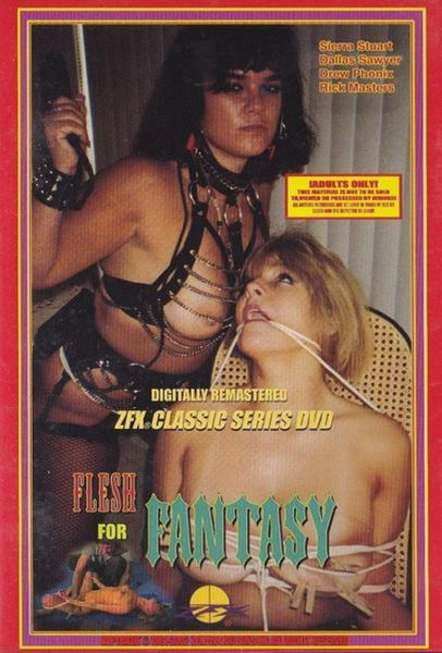 ZFX - Flesh For Fantasy - used FACTORY ORIGINAL dvd in case with artwork