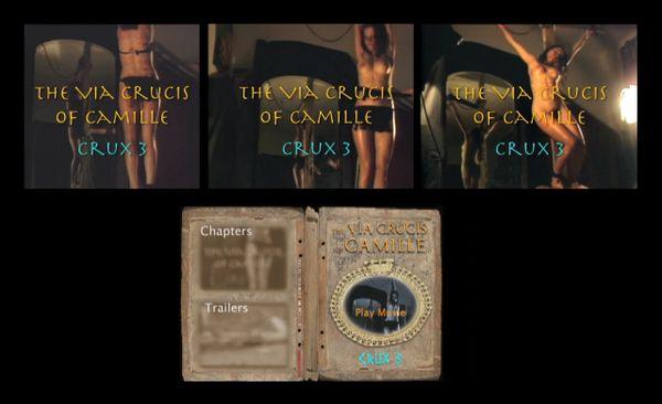 BDSM - Crucifix - RF - Crux 03 - 36 minutes - *used DVD in paper sleeve - NO ART - (Q=G-VG)