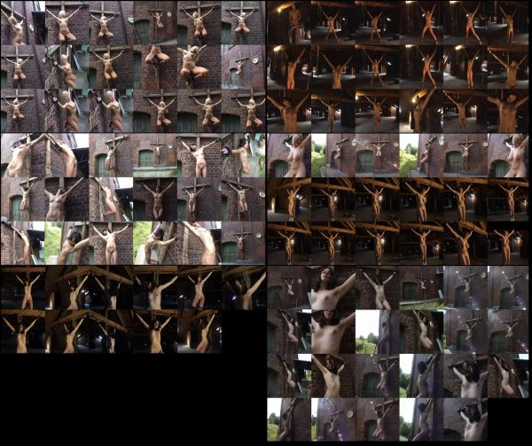 BDSM - Crucifix 01 - 6 scenes - 57 min - *used DVD in paper sleeve - NO ART - (Q=VG)