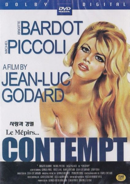 Brigitte Bardot - Contempt - Le Mepirs - 1964 - *NEW FACTORY SEALED DVD in case with artwork