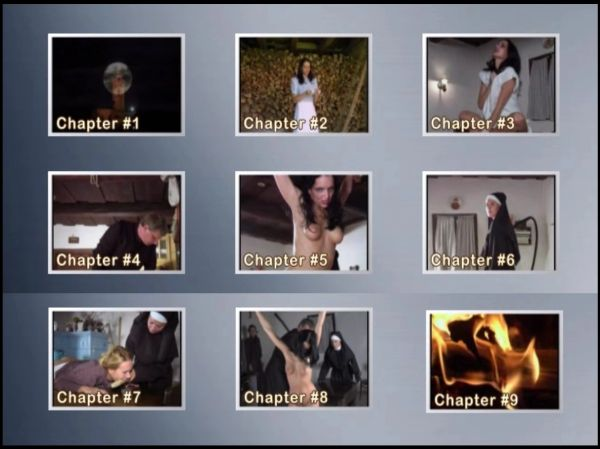 BDSM - SS-T - Painful Exorcism - 43 min - *used DVD in paper sleeve - NO ART - (Q=G-VG)