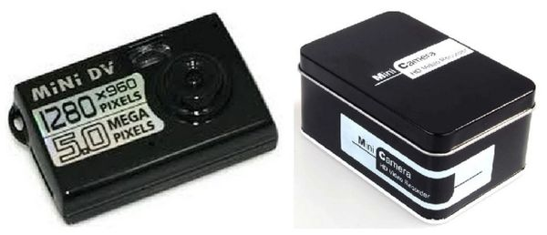 SPY CAMERA - HD Video Recorder - *NEW in nice tin box