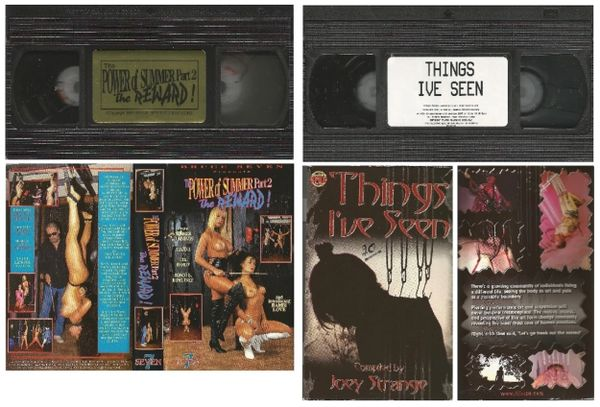 VHS - 2 in lot - Power Of Summer 2 & Things I've Seen Body Piercing - *used VHS Tape in case with artwork