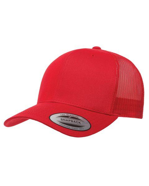 Red/Red Trucker Logo