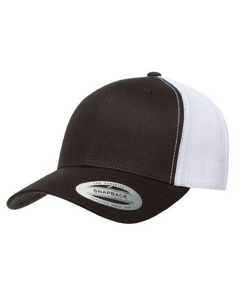 Black/White Trucker Logo