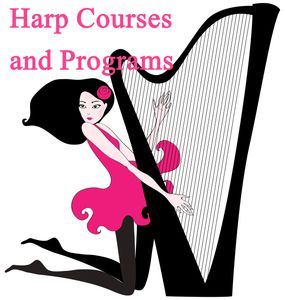 For harpists who wish to learn to improvise, and wish to be free of printed music.