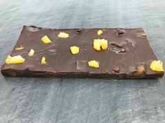 Dark Chocolate Gingerbread with Pear Bar