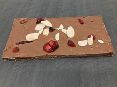 Milk Chocolate Sugar Plum with Almond Bar