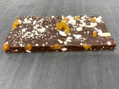 Dark Chocolate with Amaretto, Almond, and Apricot Bar