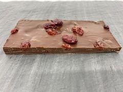 Dark Chocolate with Brandy and Cherry Bar