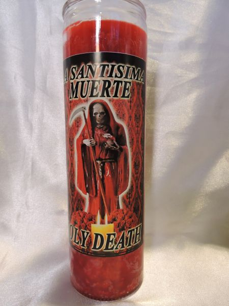 Santa Muerte (Rojo) - Holy Death (Red)