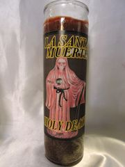Santa Muerte (Cafe) - Holy Death (Brown)