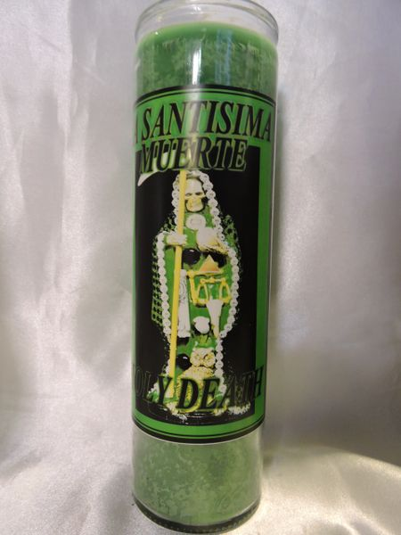 Santa Muerte (Verde) - Holy Death (Green)