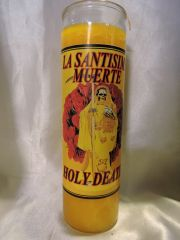 Santa Muerte (Amarillo) - Holy Death (Yellow)