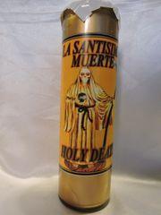 Triple Santa Muerte (Oro) - Triple Holy Death (Gold)