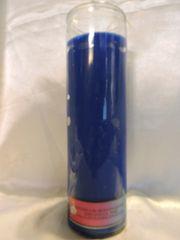 Veladora Sin Imagen (Azul) - Plain Candle (Blue)