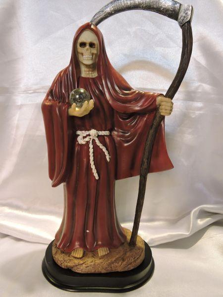 Santa Muerte Roja - Red Holy Death