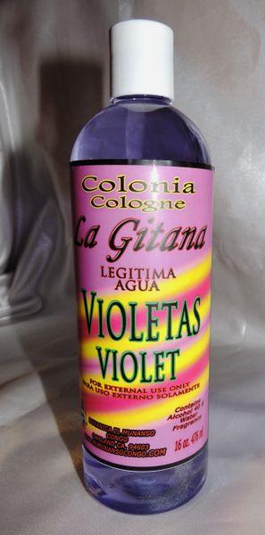 16 fl oz Colonia de Violetas - Violet Cologne