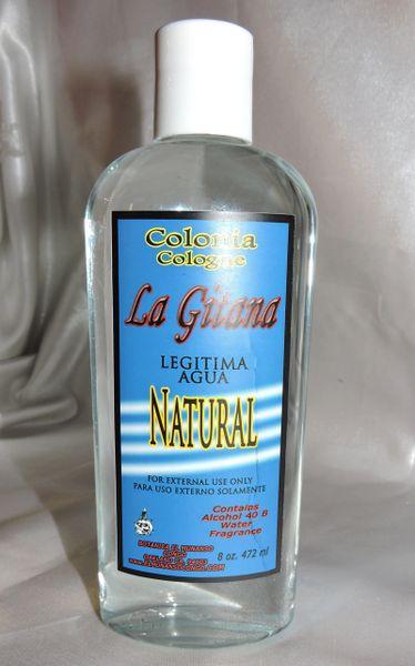8 fl oz Colonia Natural - Natural Cologne
