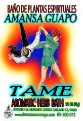 Amanza Guapo Baño Espiritual de Hierbas - Tame the Bully Spiritual Herbal Bath
