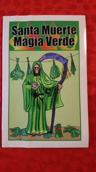 Santa Muerte Magia Verde libro
