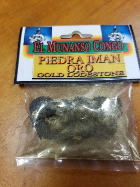 Piedra Iman Oro - Gold Lodestone