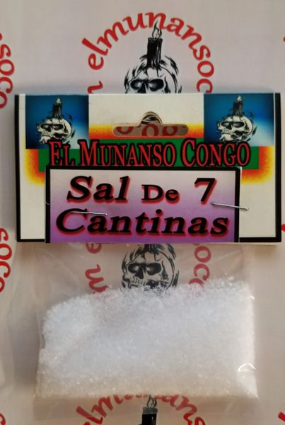 Sal De 7 Cantinas - 7 Bar Salts