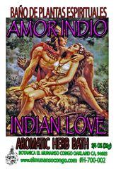 Amor Indio Baño Espitual de Hierbas - Indian Love Spiritual Herbal Bath
