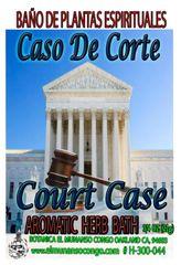 Caso De Corte Baño Espiritual de Hierbas - Court Case Spritual Herbal Bath