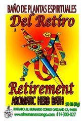 Del Retiro Baño Espiritual de Hierbas - Retirement Spiritual Herbal Bath