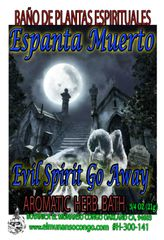 Espanta Muerto Baño Espiritual de Hierbas - Scare Away Evil Spirits Spiritual Herbal Bath