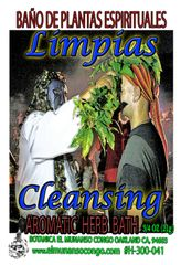 Limpias Baño Espiritual de Hierbas - Cleansing Spiritual Herbal Bath
