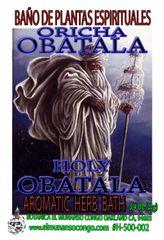 Obatala Baño Espiritual de Hierbas - Obatala Spiritual Herbal Bath