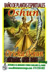 Oshun Baño Espiritual de Hierbas - Oshun Spiritual Herbal Bath