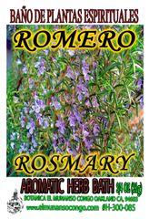 Romero Baño Espiritual de Hierbas - Rosemary Spiritual Herbal Bath