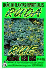 Ruda Baño Espiritual de Hierbas - Rue Spiritual Herbal Bath