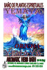 Yemaya Baño Espiritual de Hierbas - Yemaya Herbal Spiritual Bath