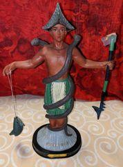 Imagen de Inle (verde & amarillo) - Inle Statue (green & yellow)