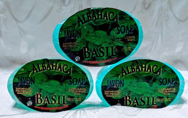 Jabon de Albahaca - Basil Soap