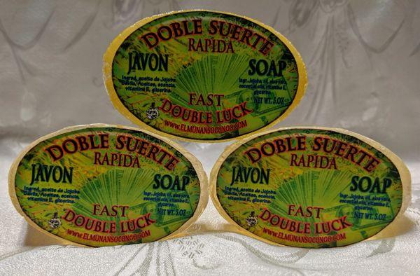 Jabon de Doble Suerte Rapida - Double Fast Luck Soap