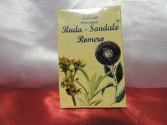 Jabon de Ruda, Sandalo Y Romero - Rue, Sandalwood & Rosemary Soap
