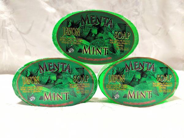 Jabon de Menta - Mint Soap
