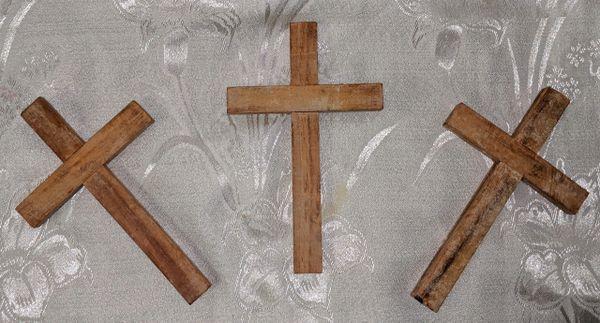 Cruz de Ocote (grande) - Ocote Pine Cross (large)