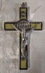 Cruz de San Benito con Cristo (chico) - Saint Benedict w/ Christ on the Cross (small)