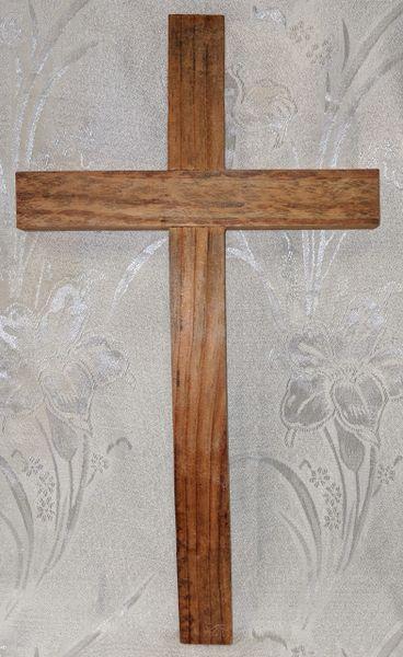 Cruz de Ocote (extra grande) - Ocote Pine Cross (extra large)