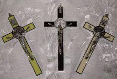 Cruz de San Benito (estilo italiano/blanco) - Saint Benedict Cross (italian style/white)