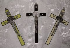 Cruz de San Benito (estilo italiano/verde) - Saint Benedict Cross (italian style/green)