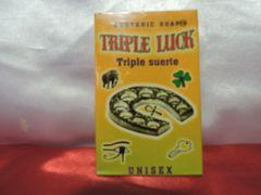Triple Suerte - Triple Luck