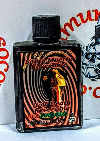 Santa Muerte Reversible 1/2 oz aceites - Holy Death Reversible 1/2 oz oils