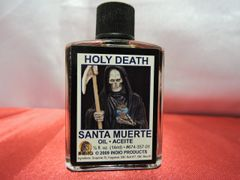 1/2 oz Santa Muerte Negra - Black Holy Death